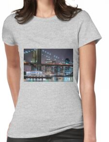 Brooklyn Bridge Womens Fitted T-Shirt