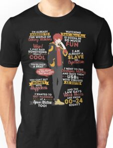707 quotes shirt Unisex T-Shirt