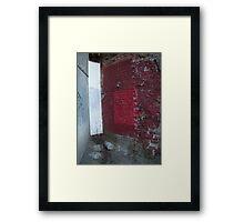Corner Framed Print