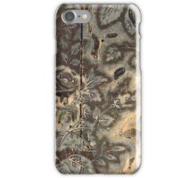 Textile Printing Wood Block. iPhone Case/Skin