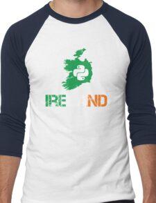 Python Ireland Programmer Gifts Men's Baseball ¾ T-Shirt