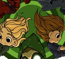 Arrow S3 Promo Poster Variant - Version 3 Sticker