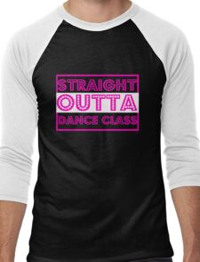 Dance t shirt Straight Outta Dance Class t shirt Men's Baseball ¾ T-Shirt