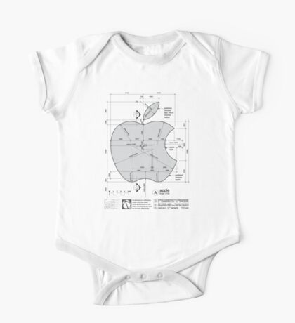 Apple Construction Dimensions One Piece - Short Sleeve