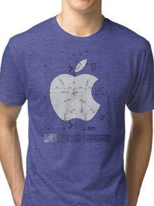 Apple Construction Dimensions Tri-blend T-Shirt