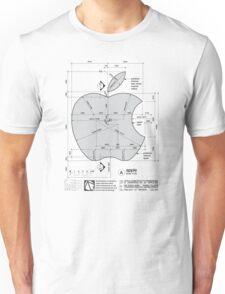 Apple Construction Dimensions Unisex T-Shirt