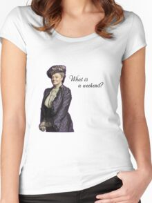 dowager Women's Fitted Scoop T-Shirt