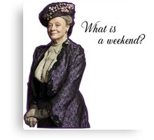 dowager Canvas Print
