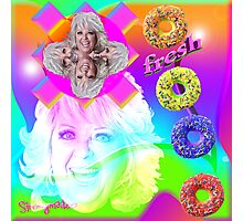 Go Nuts with Paula's Fresh Donuts Photographic Print
