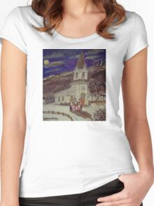 Church Carolers Women's Fitted Scoop T-Shirt