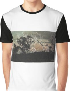 The Moon on the Mountain Graphic T-Shirt