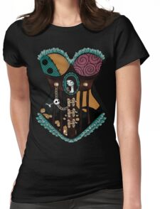 Ragdoll Corset Womens Fitted T-Shirt