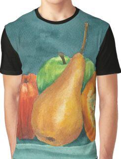 Still life fall fruit Graphic T-Shirt