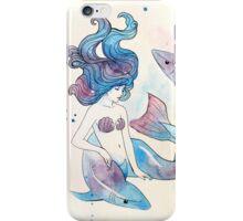 Blue Mermaid iPhone Case/Skin