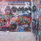 Graffiti Alley by romerkat