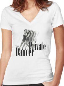 Tina Turner - Private Dancer Women's Fitted V-Neck T-Shirt