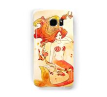 Fiery Mermaid Samsung Galaxy Case/Skin
