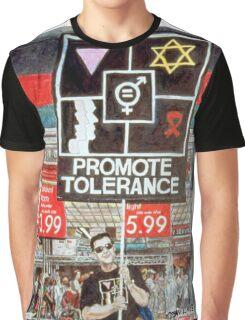 Promote Tolerance Graphic T-Shirt