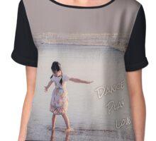 Beach Girl - Dance Play Love Chiffon Top