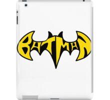 Batman Text  iPad Case/Skin