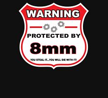 8mm Protected By 8mm Shield Unisex T-Shirt