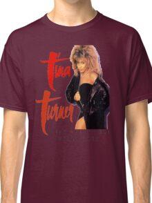 Tina Turner - World Tour - Reproduction Concert Tee 1987 Classic T-Shirt