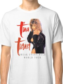 Tina Turner - World Tour - Reproduction Concert Tee 1987 Classic T-Shirt