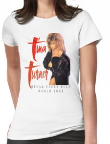 Tina Turner - World Tour - Reproduction Concert Tee 1987 Womens Fitted T-Shirt