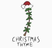 Christmas Thyme One Piece - Long Sleeve