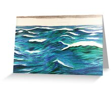 Open Waters Greeting Card