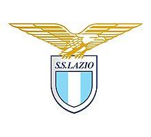 S.S. Lazio Logo Photographic Print