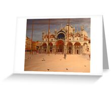 St Marco Square - Venice Greeting Card