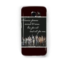 Newsies Forever. Second to none. Samsung Galaxy Case/Skin
