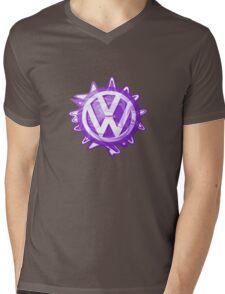 Purple VW look-a-like Swirl Mens V-Neck T-Shirt
