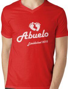 Abuelo Established Est 2015 New Baby T-Shirt Mens V-Neck T-Shirt
