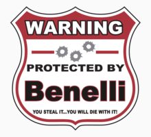 Benelli Protected by Benelli Shield T-Shirt