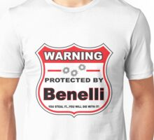 Benelli Protected by Benelli Shield Unisex T-Shirt