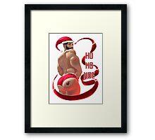 Ho Ho Hoe (Nice) Framed Print