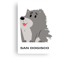San Francisco (San Dogisco) Canvas Print