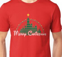 Merry Christmas at the happiest place on earth T-Shirt Unisex T-Shirt