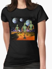 3 of a Kind Womens Fitted T-Shirt
