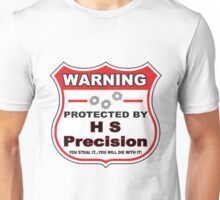 Hs Precision Protected by Hs Precision Shield Unisex T-Shirt