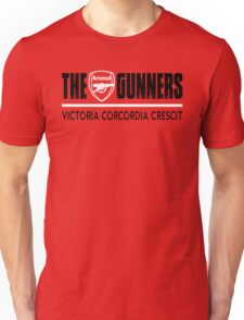 The Gunners - Arsenal - Victoria Corcordia Crescit Unisex T-Shirt
