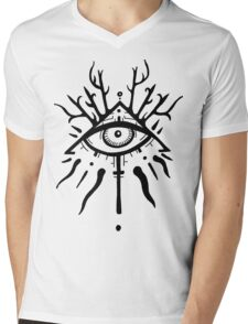 The Ever Gazing Eye Mens V-Neck T-Shirt