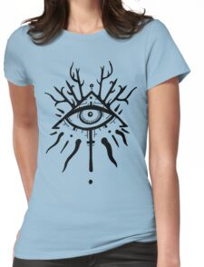 The Ever Gazing Eye Womens Fitted T-Shirt