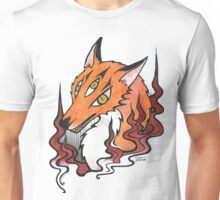 Three eye fox Unisex T-Shirt