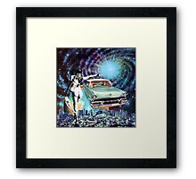 Nude Hitchhiker Framed Print