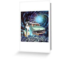 Nude Hitchhiker Greeting Card