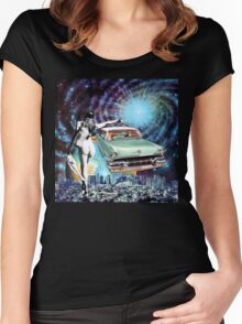 Nude Hitchhiker Women's Fitted Scoop T-Shirt