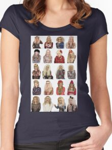 Katya (BFF #1) Women's Fitted Scoop T-Shirt
